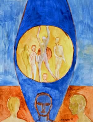 UDHR Article 29 painting