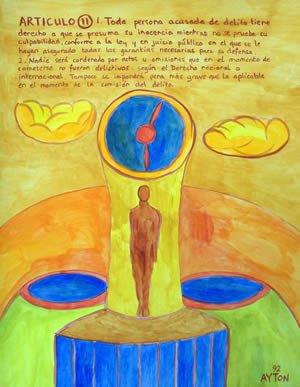 UDHR Article 11 painting